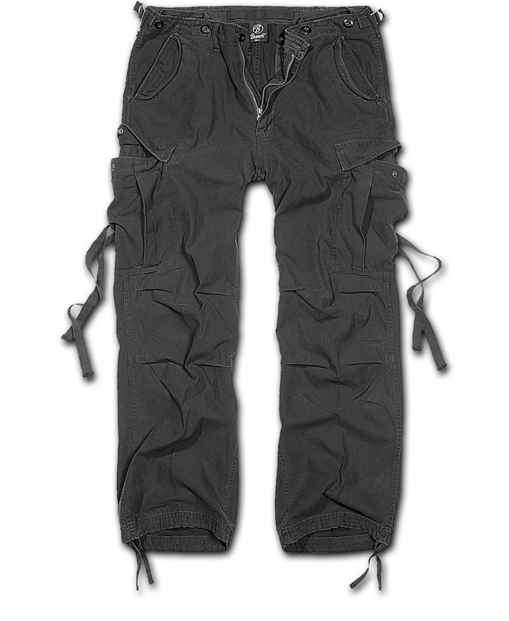 Nohavice Brandit M-65 Vintage čierna XL