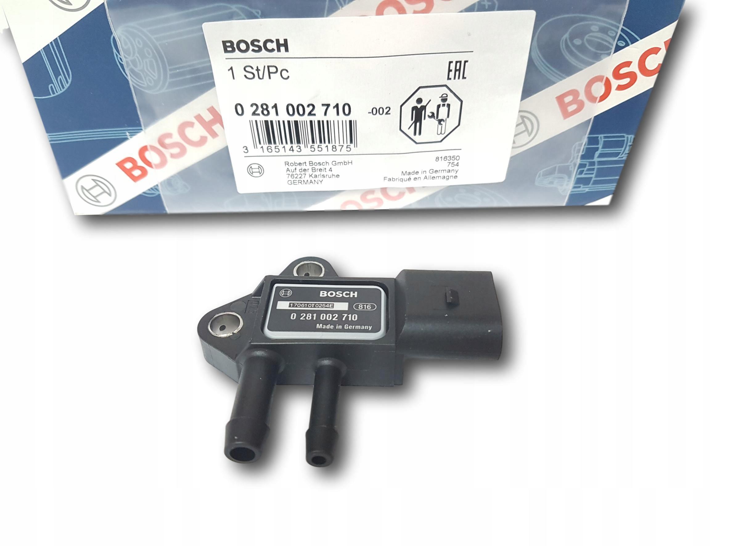 bosch датчик давления выхлопных газов audi seat skoda vw