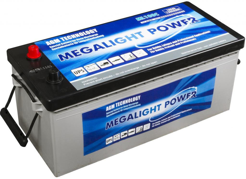 Thermotrousers MEGAlight batérie 230Ah AGM HLBOKÉ CYKLUS