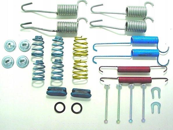 Наборы, ремкомплекты тормозной системы, jeep cherokee kj (джип), комплект монтажный тормозных