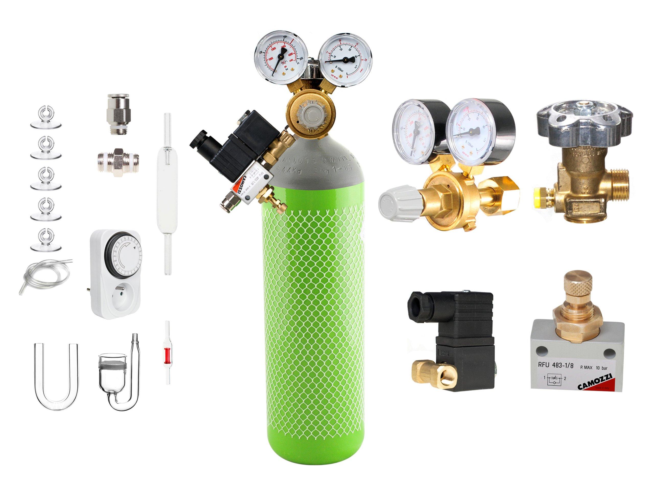 AQUA-PLANTER PASSION zestaw CO2 z butlą 5l CAMOZZ