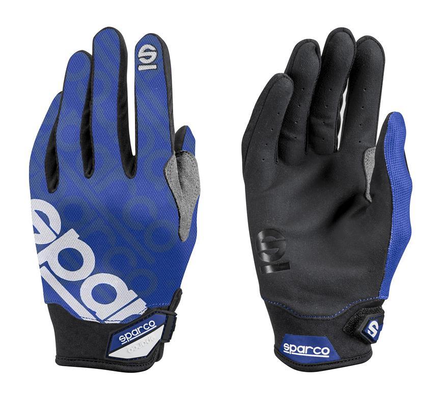 Купить Перчатки Sparco Meca-3 синие разм. L на Otpravka - цены и фото - доставка из Польши и стран Европы в Украину.
