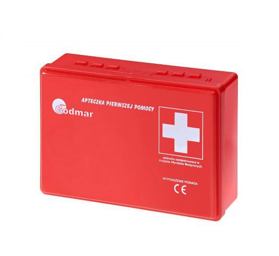 Súprava prvej pomoci. Súprava prvej pomoci