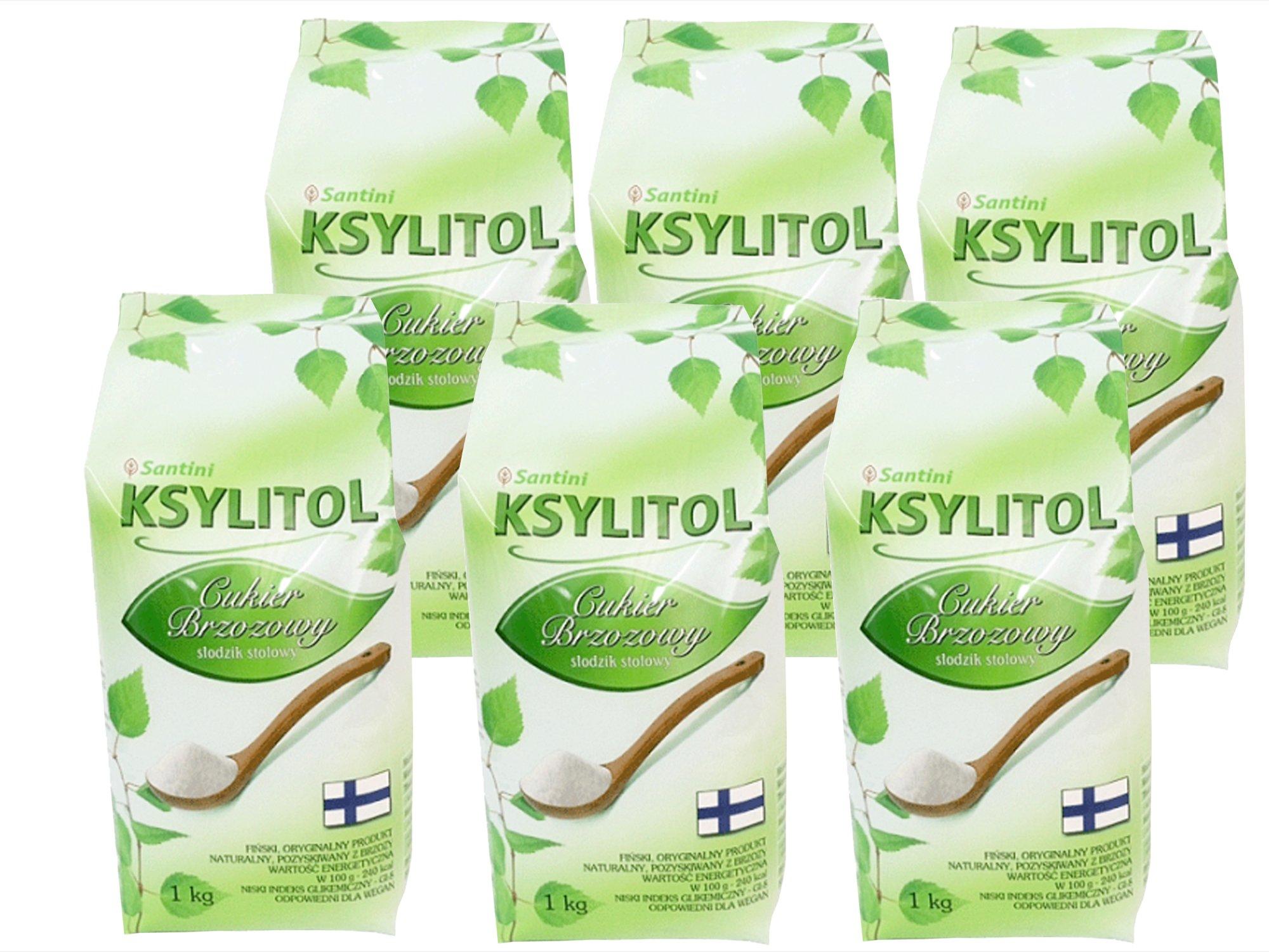 6 kg fínsky XYLITOL 100% breza cukru ekonomiky.