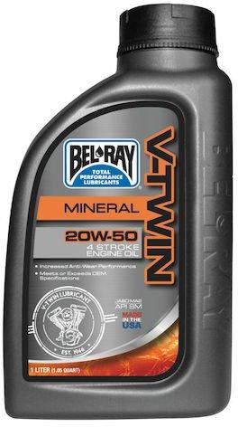 Motorový olej V-Twin Bel-Ray 20W-50 1L