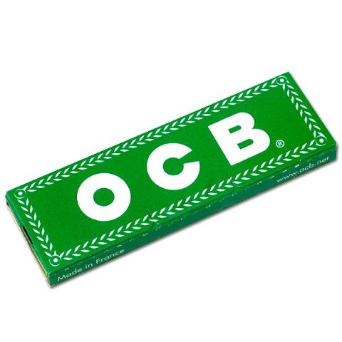 Бумажные рулоны OCB зеленый 50 салфетки