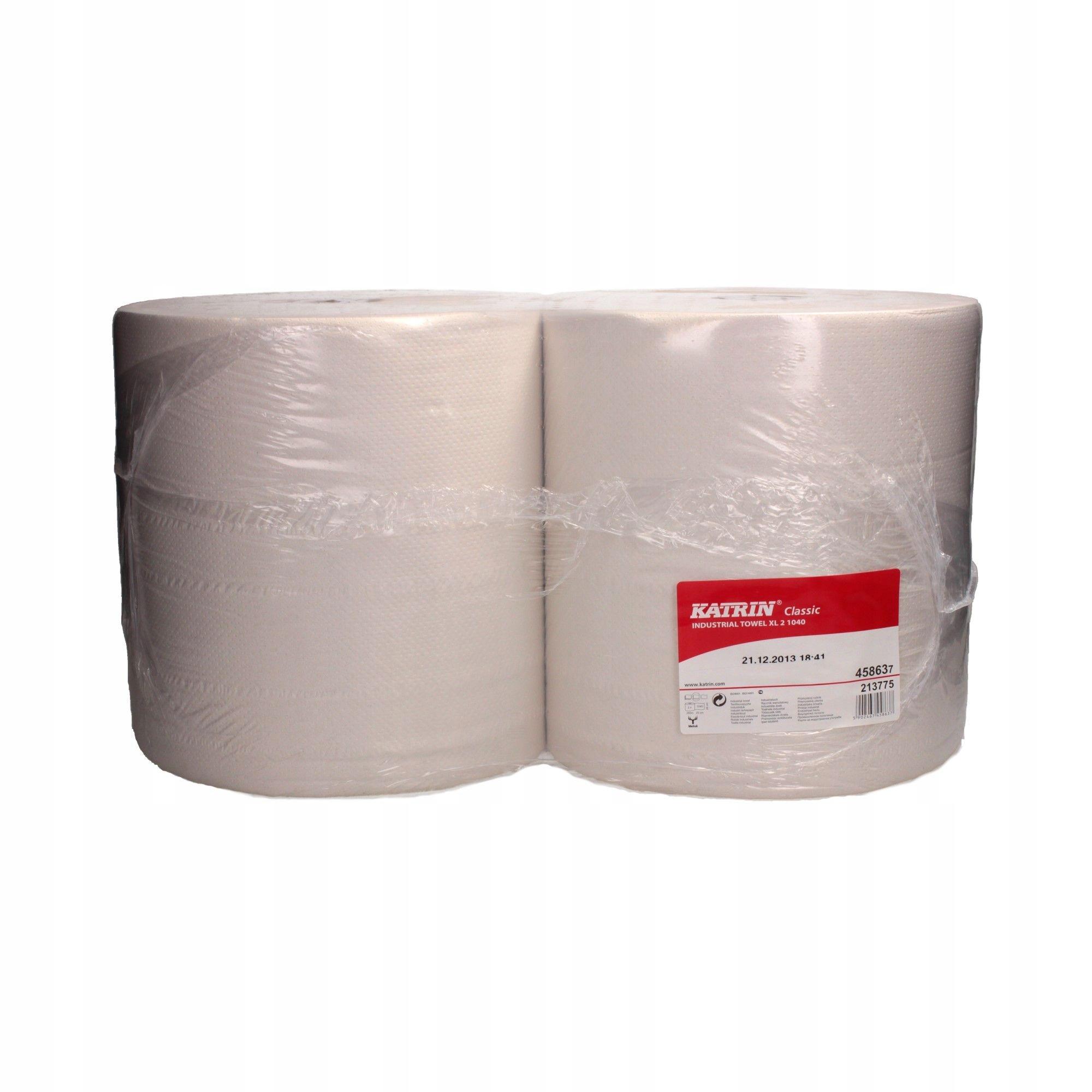 Czyściwo papierowe przemysłowe 2w białe Katrin (2)