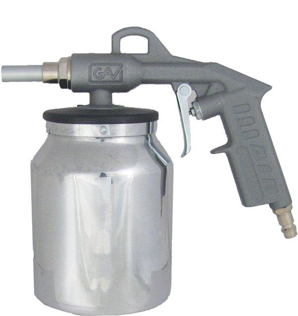 Pistolet ze zbiornikiem GAV do konserwacji