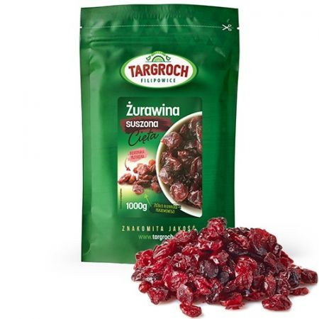 Item CRANBERRY DRIED 1 kg FRESH, WITHOUT PRESERVATIVES