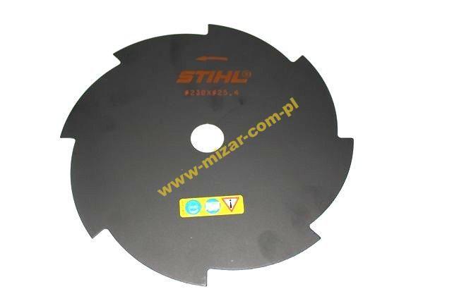 REZACIA čepeľ 8Z 230mm 25,4mm STIHL ORIGINAL FV