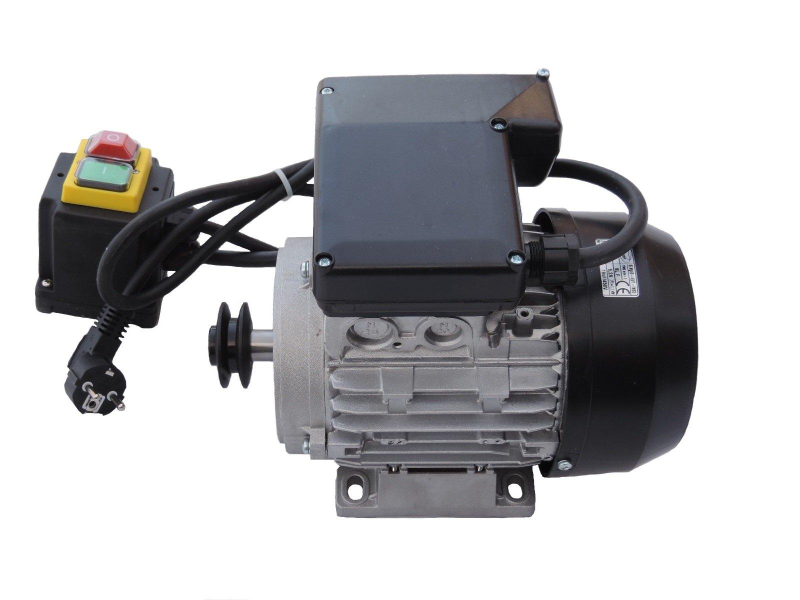 Двигатель электрический 1 фаз бетономешалка 1 ,1 kW  230