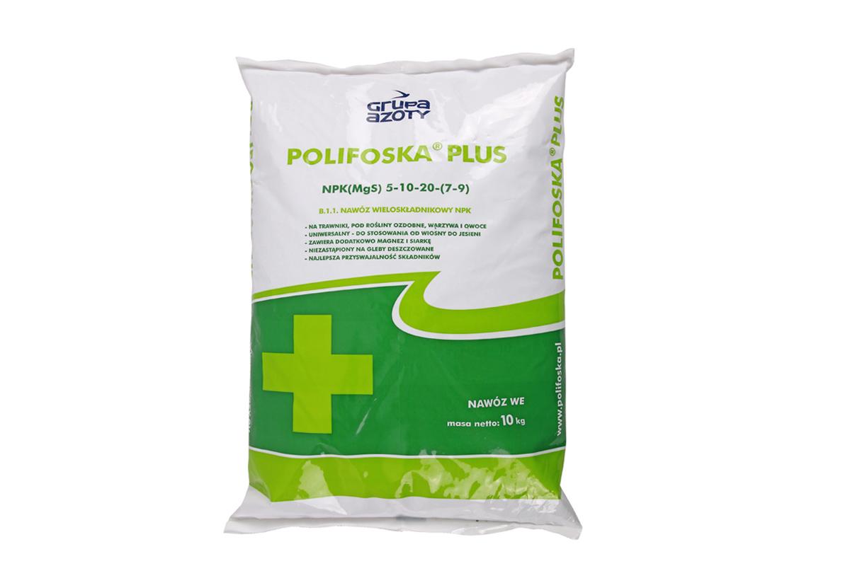 NAWOZ GRANULOWANY kompleksowy POLIFOSKA PLUS 10kg