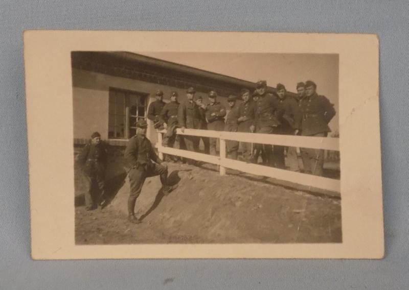 Stará vojenská fotografia! L.20-TE FRANCE, SOLDIER