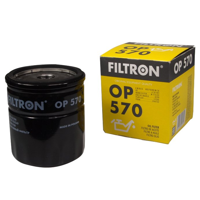 filtron фильтр масла op570 дэу opel saab