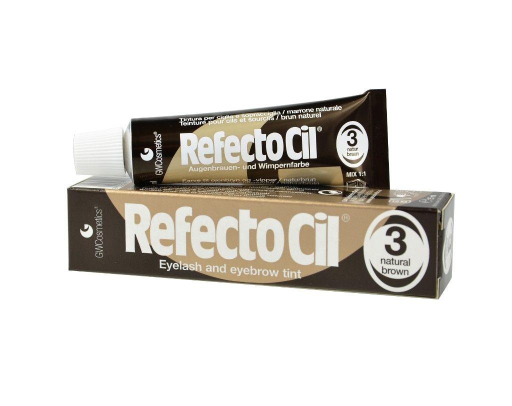 Refectocil Хна для ресниц и бровей коричневая 15 мл