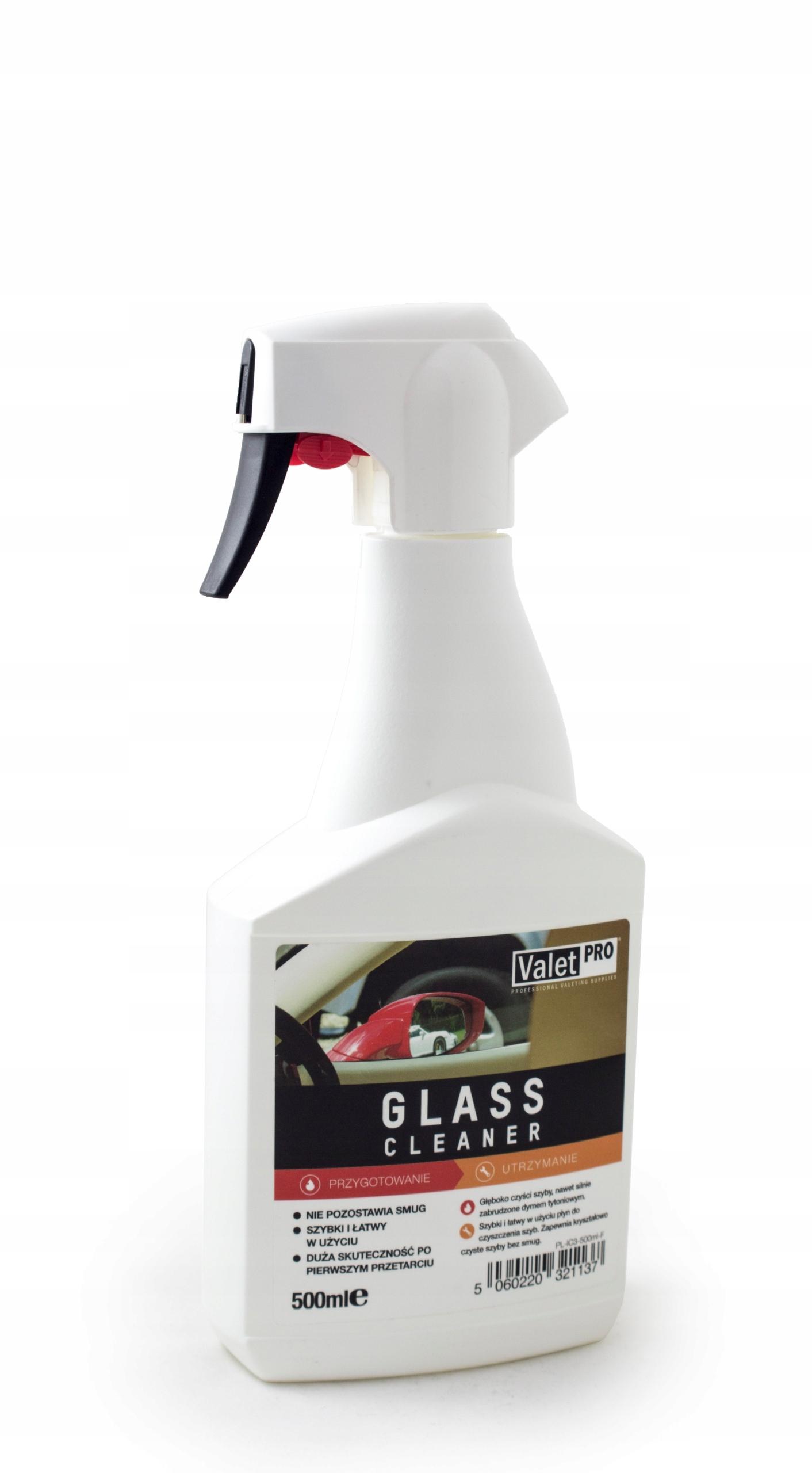 ValetPRO GLASS CLEANER MOCNY ŚRODEK DO SZYB 500ml