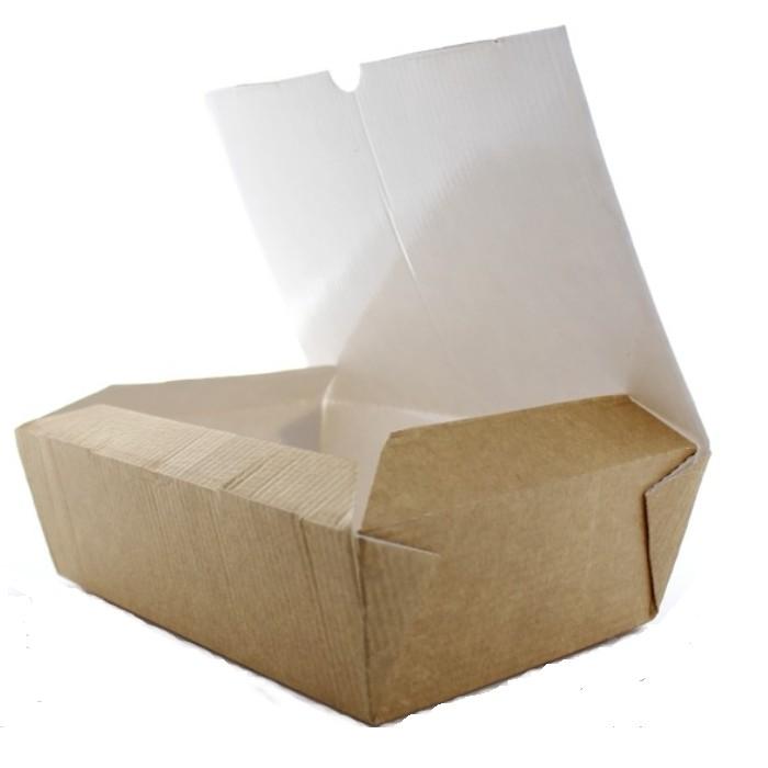 Pudełko pojemnik box na frytki nugetsy wynos 10szt