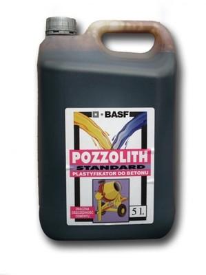 Plastifikátor pre betón POZZOLITH 5L - kúrenie