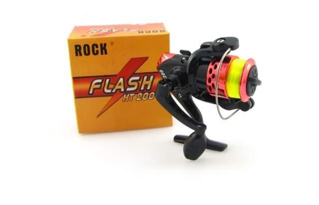 Navíjačka s riadok 2 predné ložiská flash brzdy