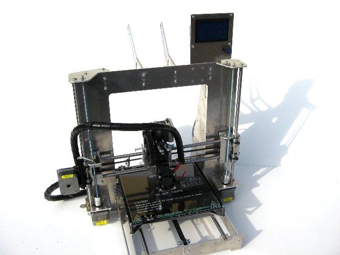 3D tlačiareň, Prusa I3 hliník, zníženie