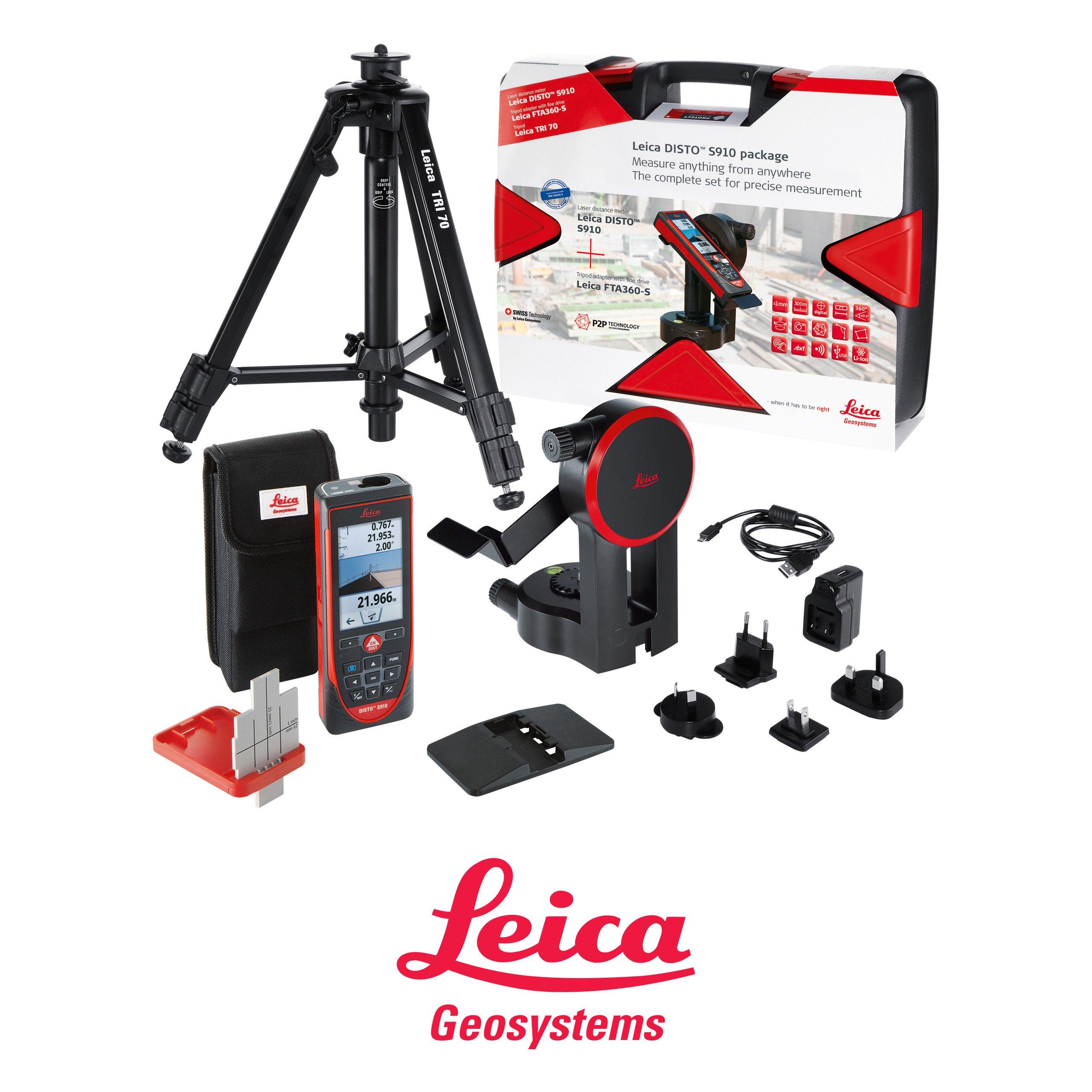 Laserový radička Leica Disto S910 Pro