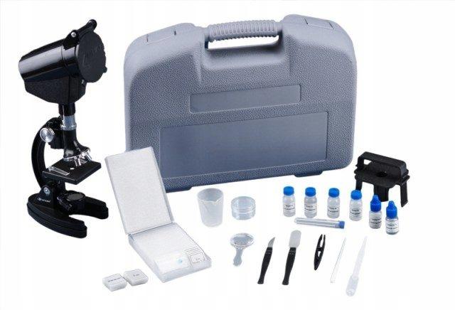 Mikroskop Opticon LAB Pro v puzdre + KNIHA + DVD