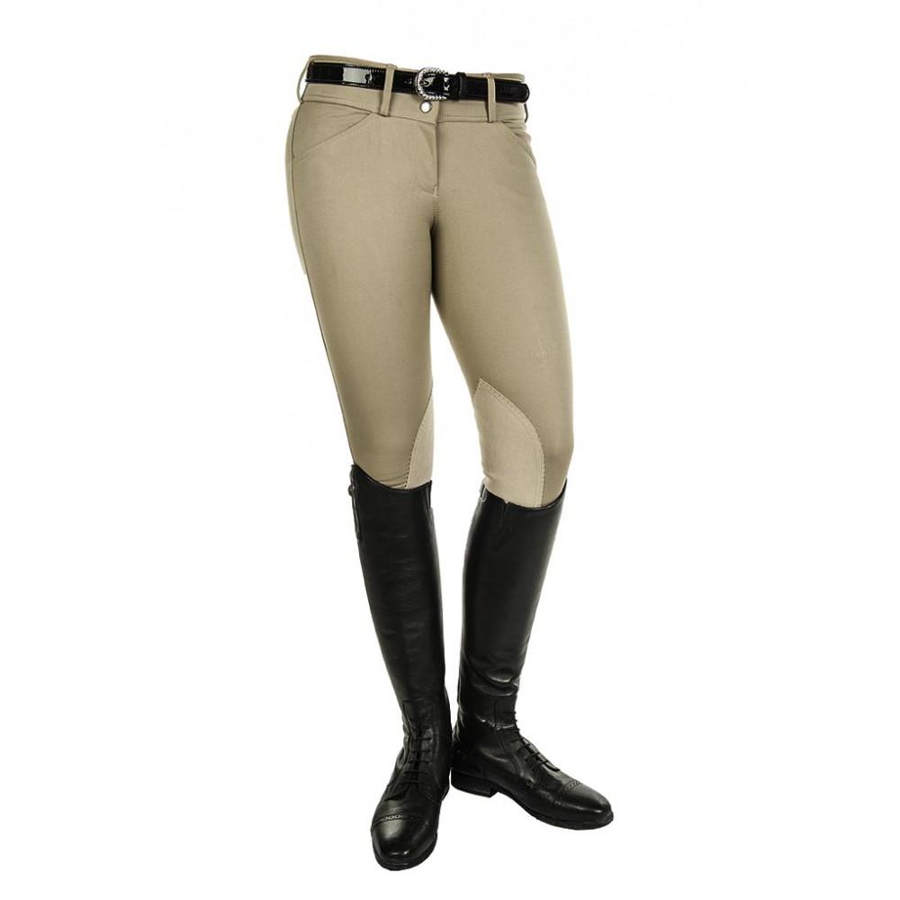 Nohavice hkm lej koleno béžová r.36 Super cena !!!