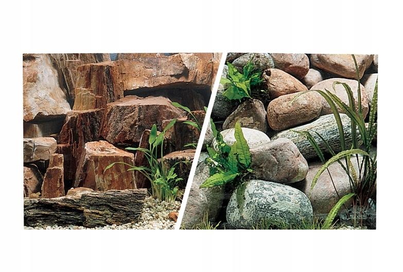 Hagen Obojstranné pozadie pre akvárium 45x750 cm