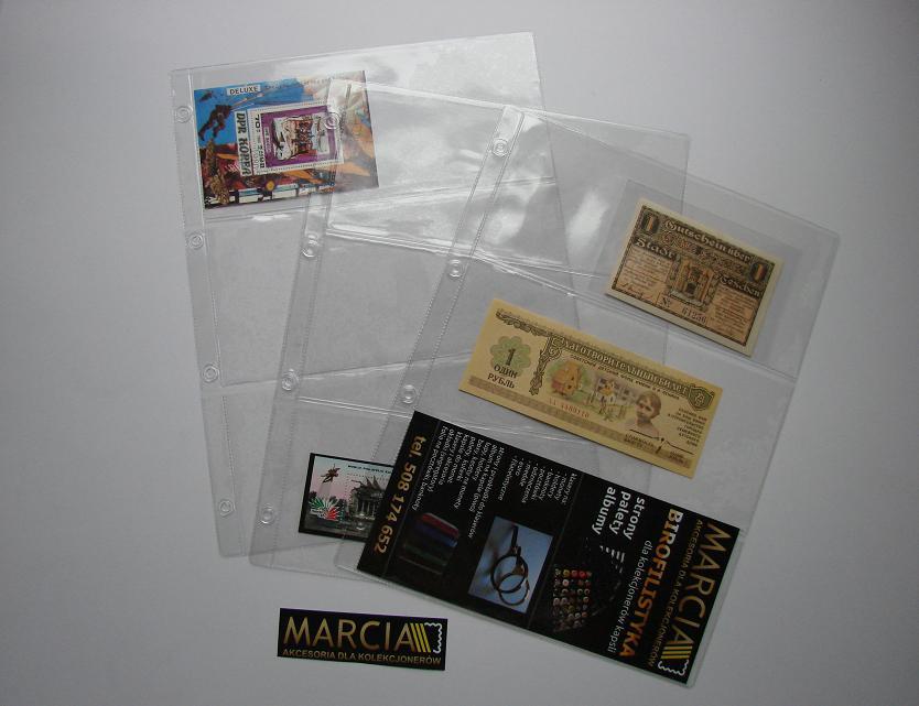 Strony na banknoty A4 typ 3 nowość