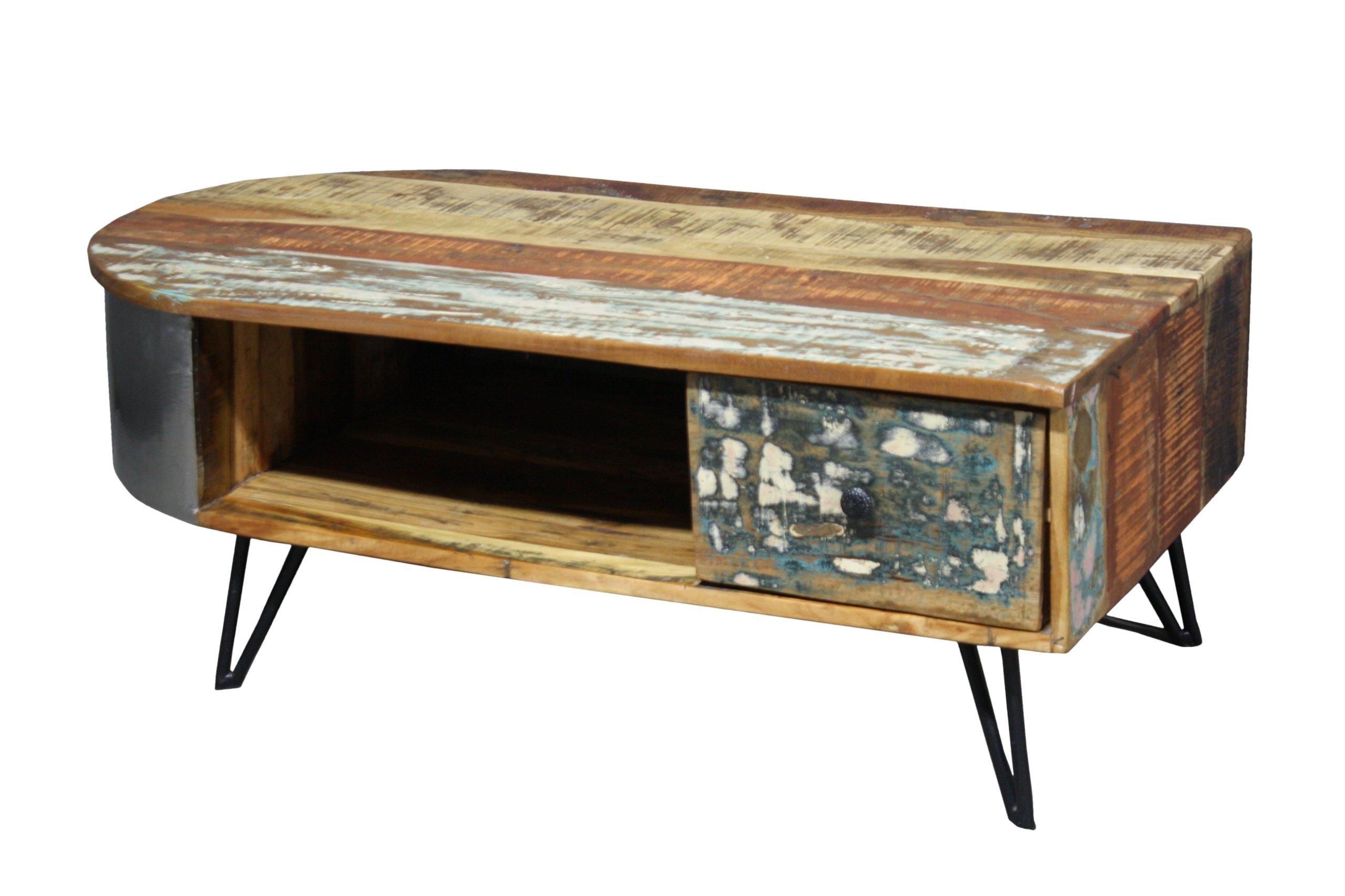 Konferenčný stolík konferenčný Stolík Dreva, Kovu Vintage Loft LIVERPOOL