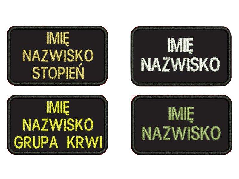 Название ПАТЧ OSP VELCRO KSRG STRAŻ PSP PATCHES