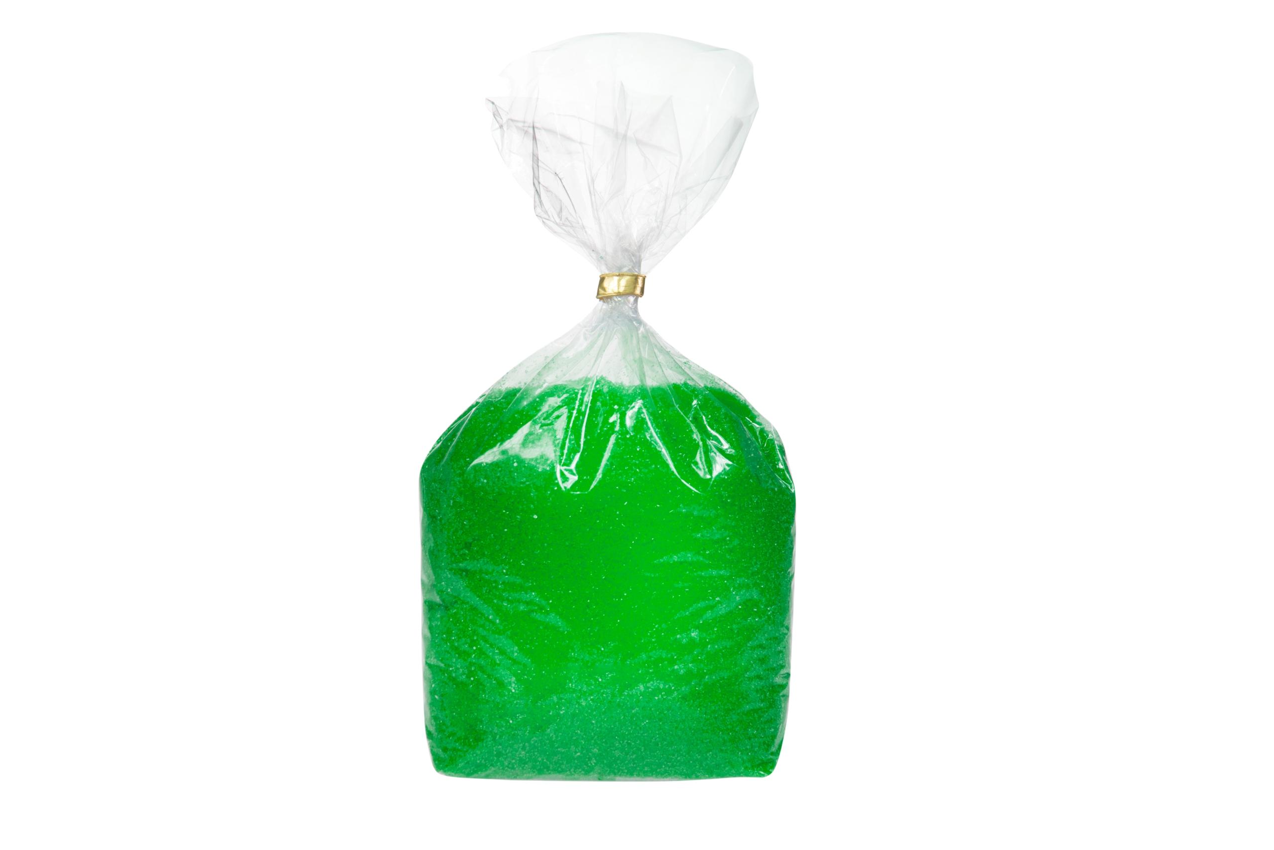 Chuť farebný cukor pre cukor bavlna zelená j
