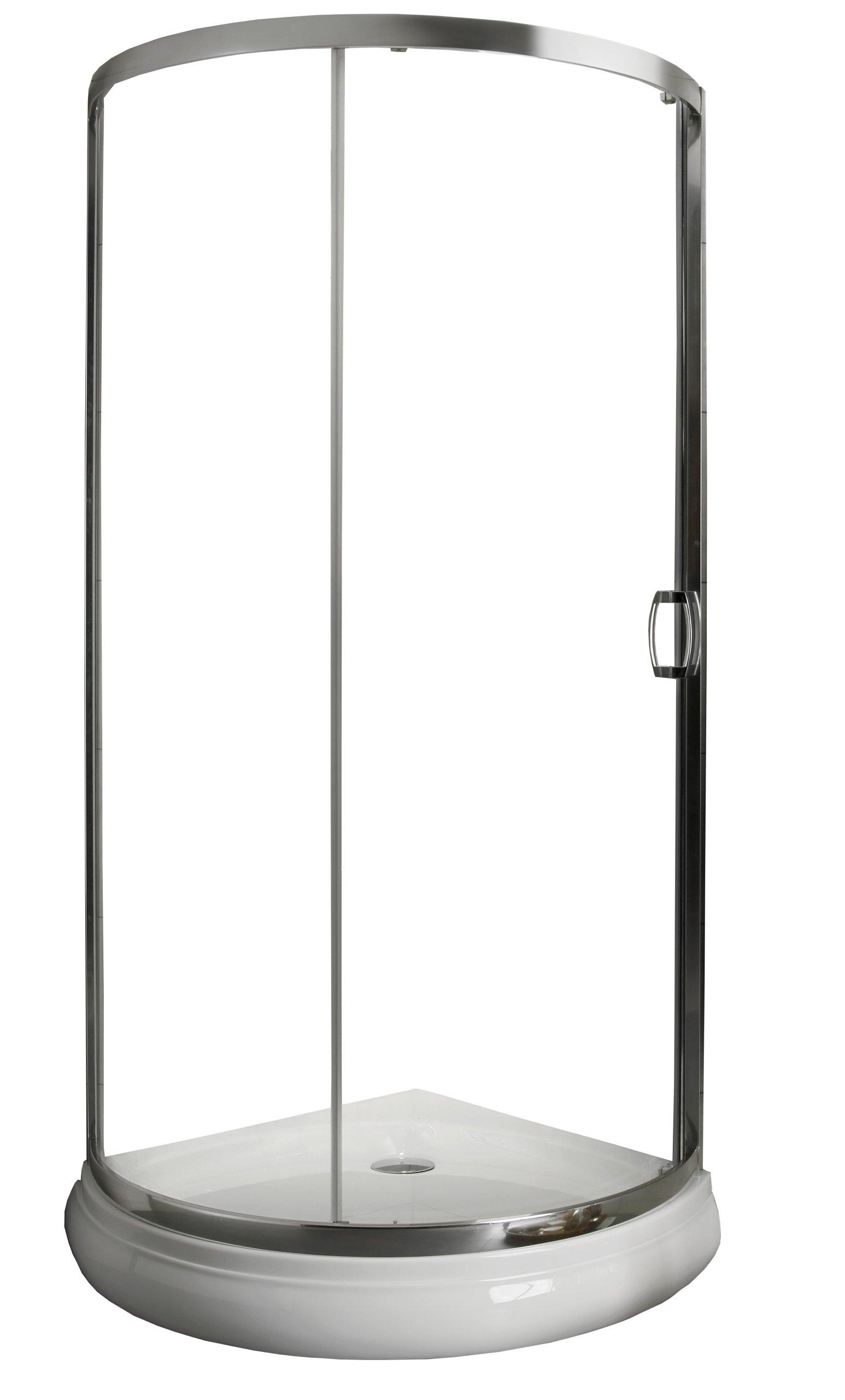Sprchovací kút RADAWAY Premium Plus 90x90x190