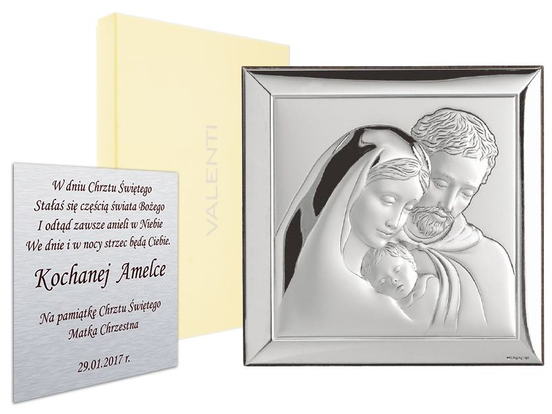 Item SILVER ICON HOLY FAMILY, a WEDDING, COMMUNICATION is 24 hours
