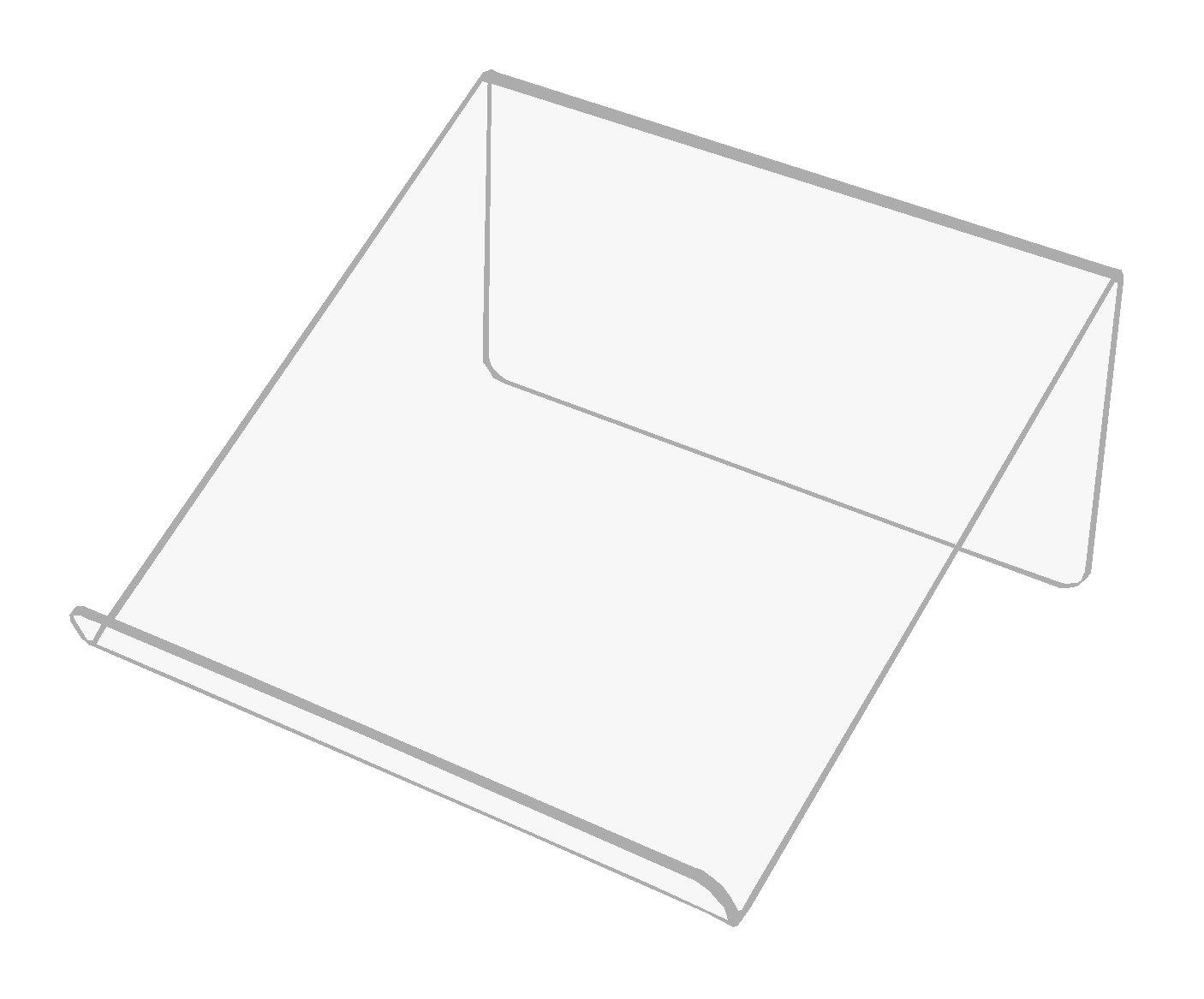 Stojan Stand 20 cm Tablet Book s Plexiglass 3mm