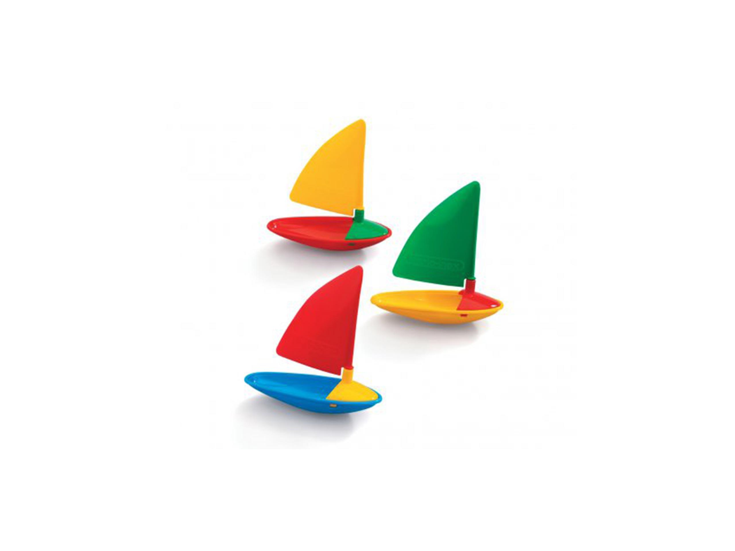 ПАРУСНЫЕ ЛОДКИ для игры на воде и на воде - 3 предмета