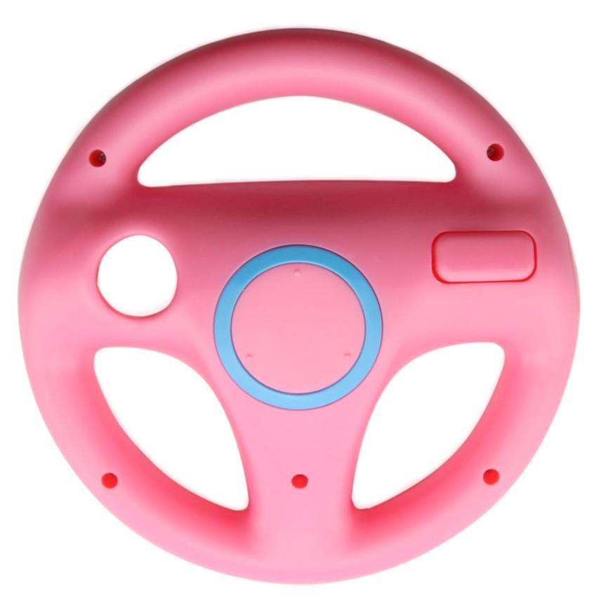 Item Steering wheel for Wii U Mario Kart Wii NEW [PINK]