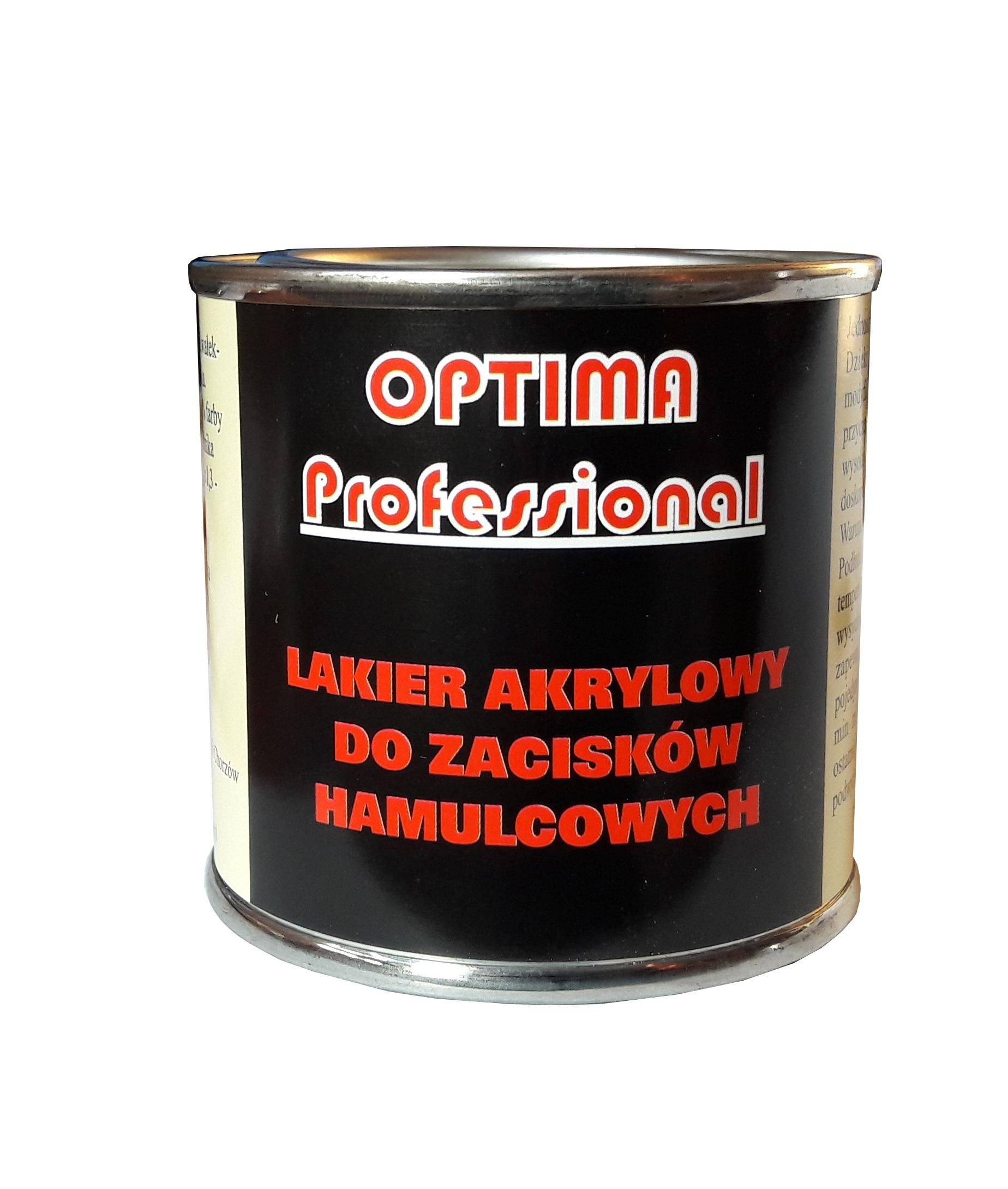 Лак тормозного суппорта 189 OPTIMA COLORS