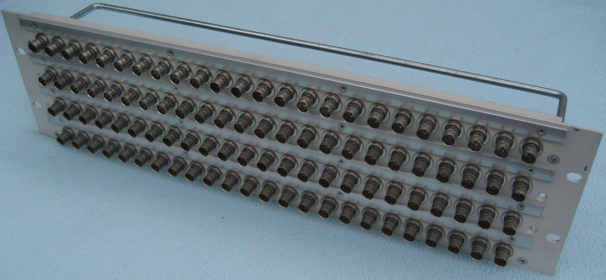 Купить Панель BNC 4x24 стойка 3U на Otpravka - цены и фото - доставка из Польши и стран Европы в Украину.