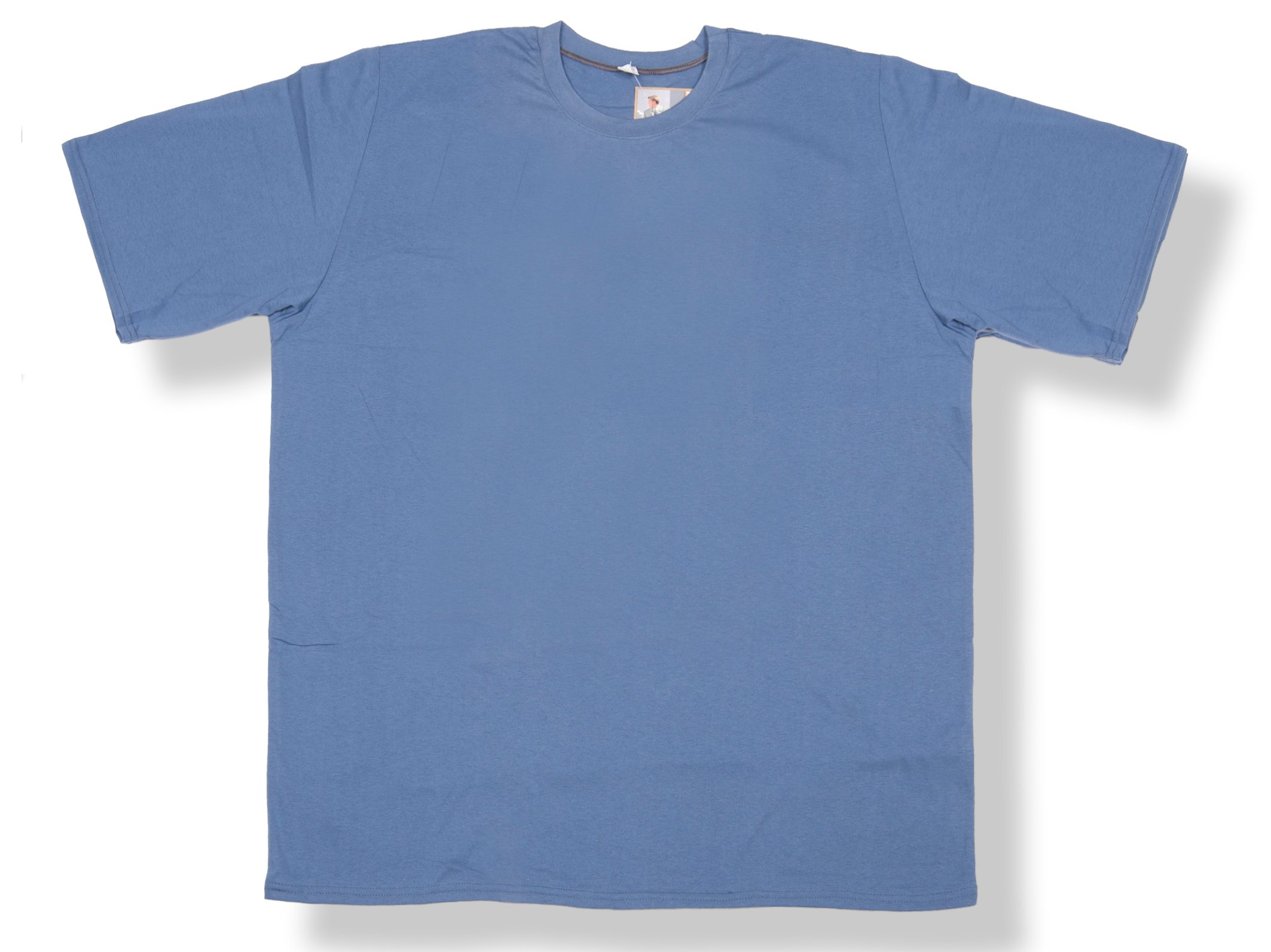 Koszulka T shirt Męski duży rozmiar 7XL niebieska 7463604906