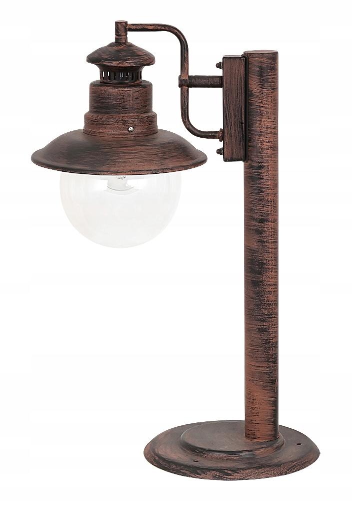 LAMPA VONKAJŠIE STĹPEC SVIETIDLA VINTAGE ODESA
