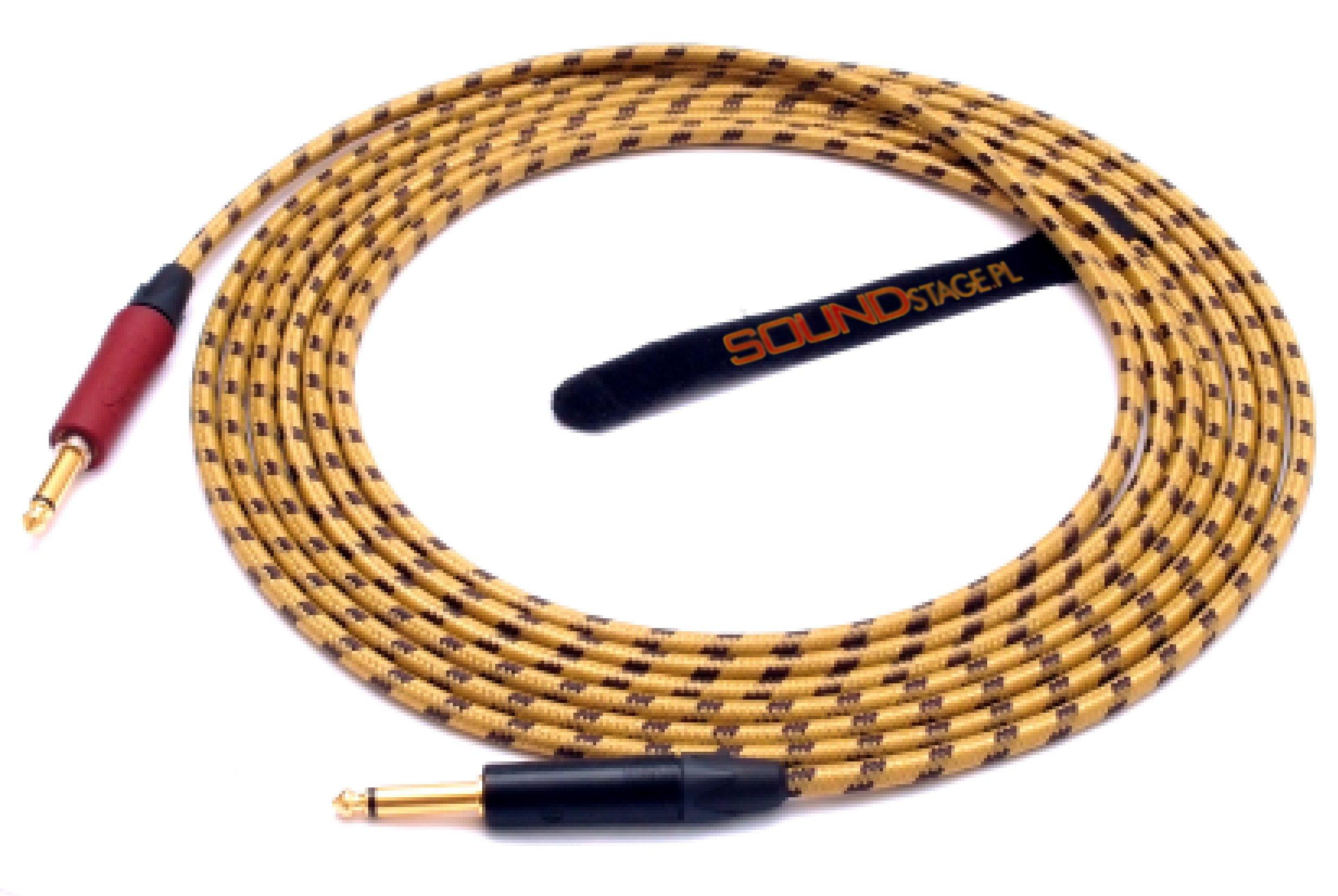 5M GITARA kábel Tichý NEUTRIK/SOMMER vintage