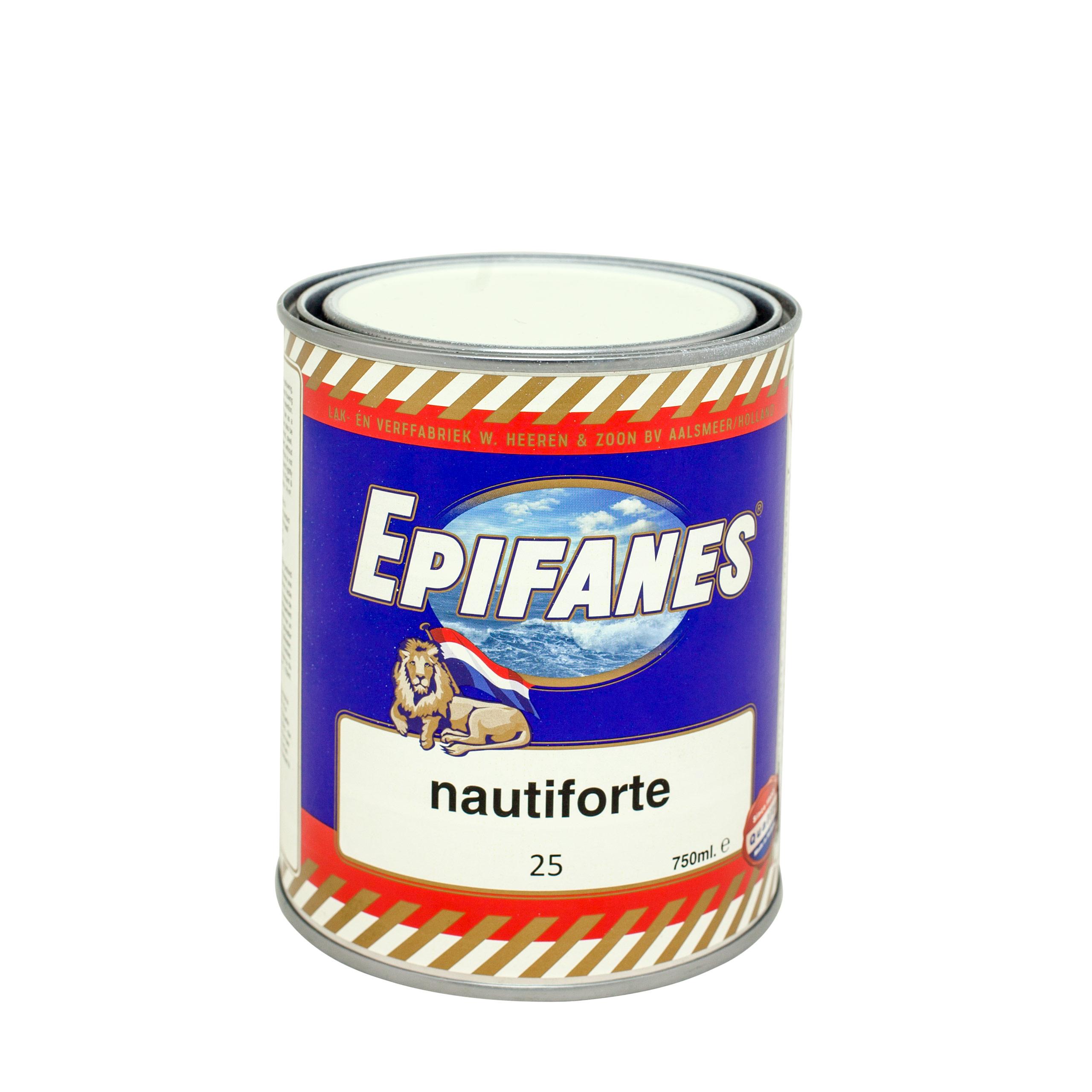 EPIFANES farby s silikón na bokoch lode, biela