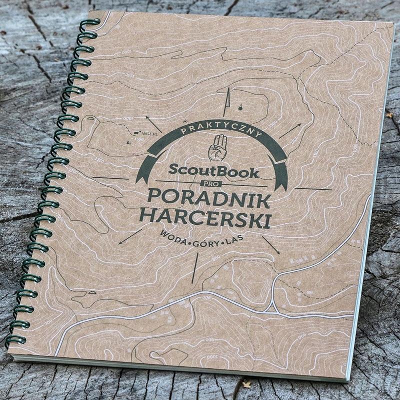 Книга Учебник Харцеров Scoutbook доставка товаров из Польши и Allegro на русском
