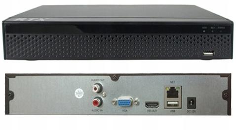 Rejestrator RTX Monitoring IP P2P 16 KAMER LSN9816 Maksymalna rozdzielczość nagrywania 5 Mpx