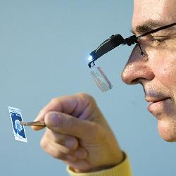 Okulary powiększające z diodami LED - Leuchtturm