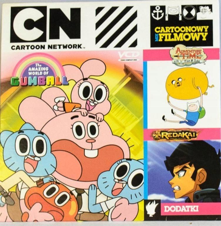 Item Cartoon Network - Redakai, Gumball, Adventure Time