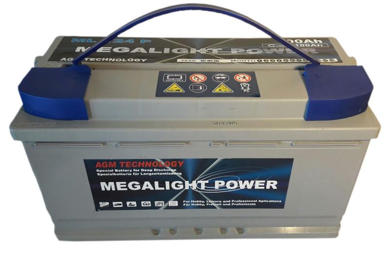 Thermotrousers MEGAlight BATÉRIE AGM 12V 100Ah LODZI VÝŽIVY
