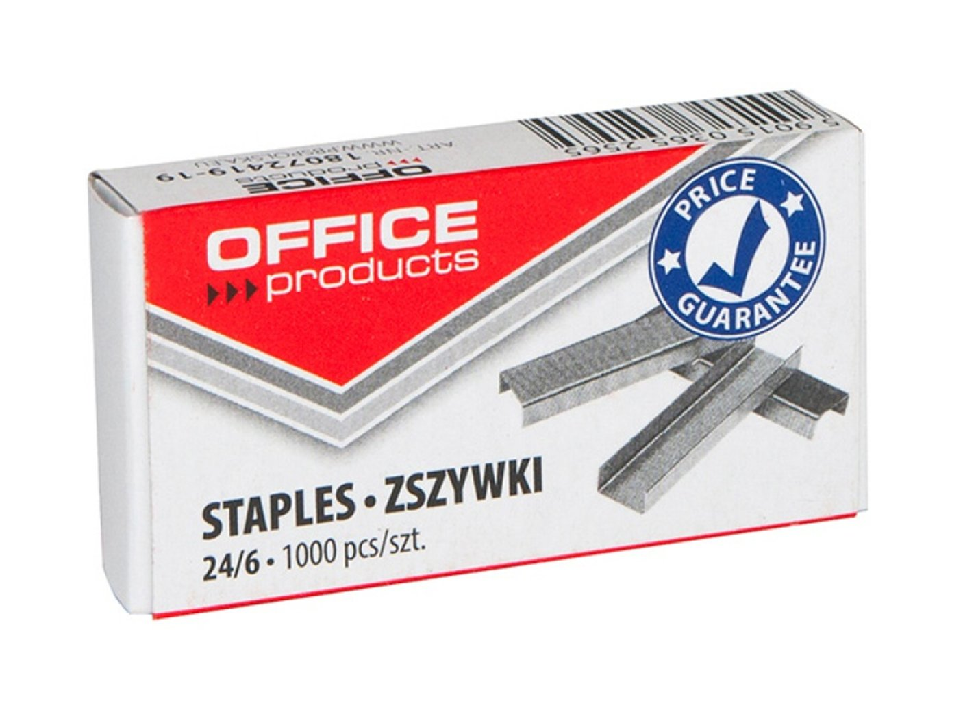 Item 24/6 standard staples 1000 PCs powerful OFFICE