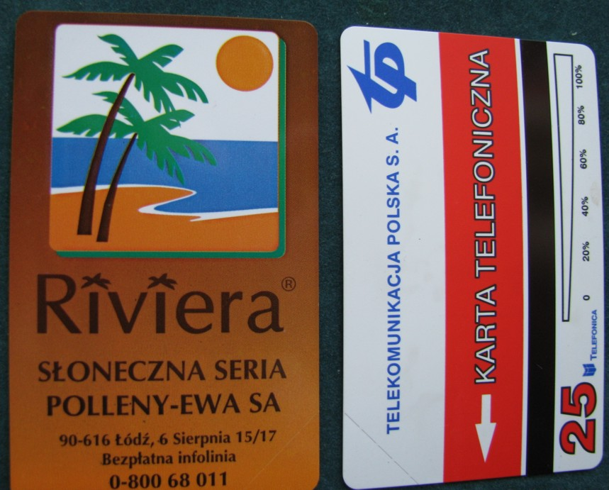 Item A full Map of Riviera sun series 304